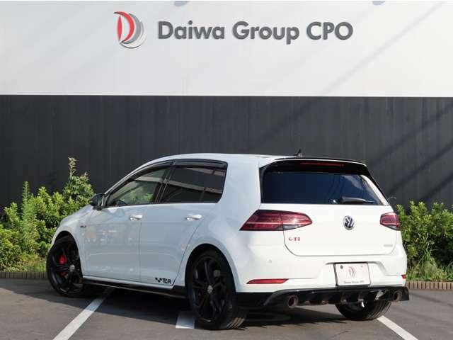 VWゴルフGTI、TCR入庫しました。全国限定600台の希少車両です。