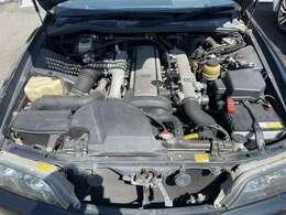 【エンジンルーム】VVT-i 2500ccターボエンジン
