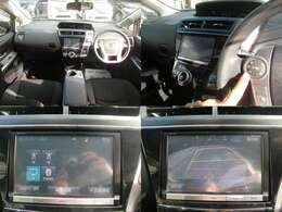 大きな純正8インチSDナビは、地デジフルセグTVにDVD再生!ブルートゥースオーディオにハンズフリー通話も対応です♪安心のバックカメラも装備♪ステアリングスイッチからもナビオーディオの操作が可能です♪