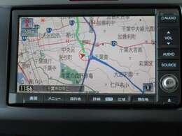 ホンダ純正HDDナビ♪搭載車!!これで遠方へのお出掛けも安心です♪カーライフをさらに快適に◎ ワンセグTVの視聴も可能です♪♪♪