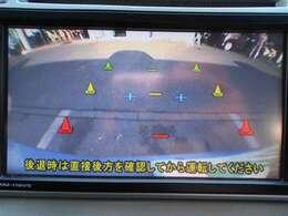 バックカメラ付きで狭い駐車も安心です(^^♪