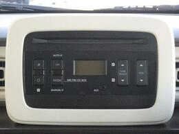 CDステレオが付いていますので、音楽を楽しみながら運転が可能です。