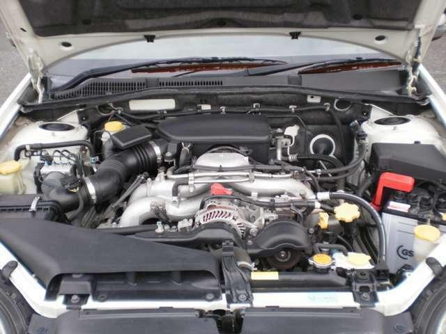 水平対向4気筒SOHC16バルブエンジン無鉛レギュラーガソリンでОK