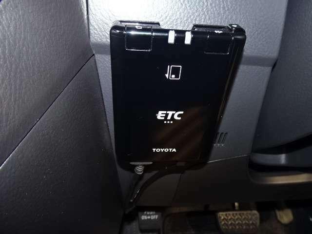 長距離ドライブの必需品「ETC」も付いています!