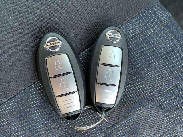 インテリジェントキーで鍵を出さずに楽々開け閉め!