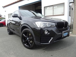 BMW X4 xドライブ28i 4WD 黒革シート バックカメラ 全方位カメラ