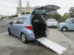 トヨタ ラクティス 1.5 G ウェルキャブ 車いす仕様車スロープタイプ タイプI 助手席側リアシート付 スローパー ナビTV ETC Bカメラ 1オーナ車