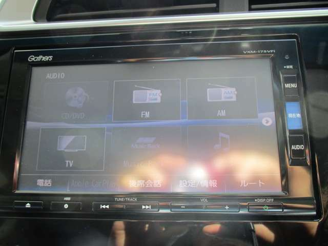 オーディオ機能も満載でドライブが楽しくなります☆