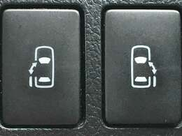 【両側電動スライドドア】 左右どちらもパワースライドドア装備♪誰でも簡単に開閉が出来ます!