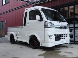ダイハツ ハイゼットトラック 660 ジャンボ SAIIIt 3方開 4WD フルエアロ・AT・17インチアルミホイール
