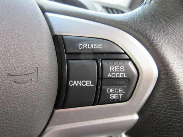 クルーズコントロール付き♪ 高速走行でもストレスなく運転ができますね♪