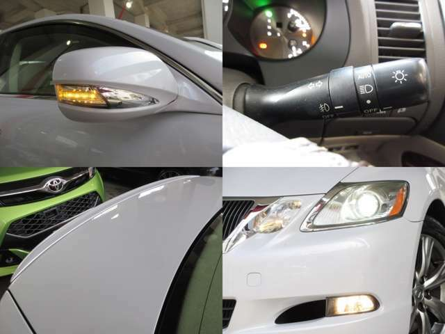 AFS付プロジェクターHIDヘッドライトで暗い夜道でも視界良好です♪お洒落なウインカーミラーも装備しております。