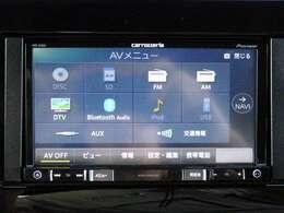 CD/DVD再生/FM・AM/DTV/ブルートゥース/機能付きです。