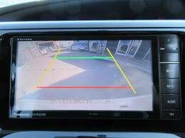 ストラーダ製SDナビ付き♪ ガイド線付バックカメラで駐車も安心ですね♪