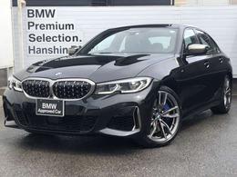 BMW 3シリーズ M340i xドライブ 4WD ワンオ-ナ-Pアシスト+黒レザ-HUDACC