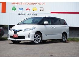 トヨタ エスティマハイブリッド 2.4 G 4WD プリクラ 寒冷地 メーカーツインTVカメ