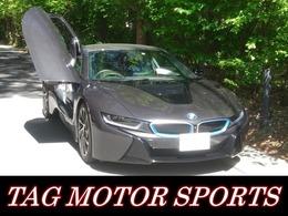 BMW i8 ベースモデル 車検R4年3月 青シートベルト 禁煙車 ETC