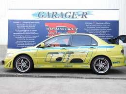 ワイスピ×2 ブライアン仕様 新品クラッチ交換 DAMDフロントバンパー 社外マフラー 社外GTウイング 社外18intAW 社外メーター