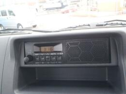 AM/FMラジオ付です