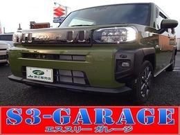 ダイハツ タフト 660 Gターボ 4WD 届出済み未使用車 純正ナビ フルセグTV