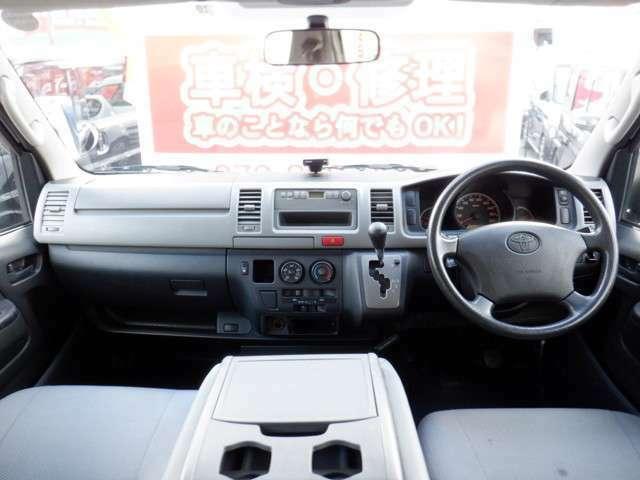 先が見渡しやすい少し高めのドライブポジションで、快適な運転をサポートしてくれます♪