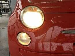 【ハロゲンヘッドライト】オプションでHID・LEDへの変更も可能です☆是非ご相談下さい!!