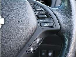 インテリジェントクルーズコントロール(全車速追従機能付)!車速に応じた車間距離を保って運転負荷を低減します!