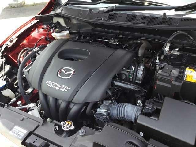 1300CCスカイアクティブエンジン 静かで低燃費です!!