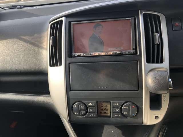 HDDナビ フルセグテレビも見られます