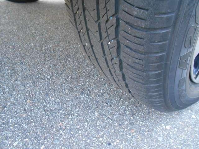 リヤタイヤの溝もGood!