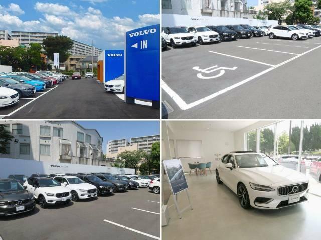 VOLVOSELEKT大田川崎店では常時40台のボルボ中古車を展示しております。キッズスペースも備えておりますので、お子様連れでも安心してお越し下さいませ。