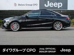 弊社グループ会社BMW正規販売代理店よりお下取りで入庫いたしました。「出どころがハッキリしている。」メルセデスベンツAMG CLA 45 です。