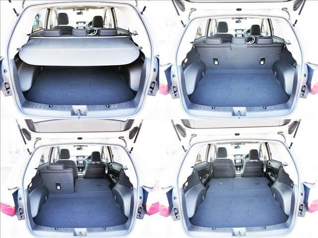 【ラゲッジルーム】は大容量を確保!リアシートを倒すことで大きなお荷物も収納可能です♪