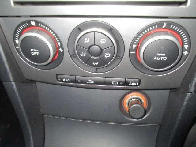 運転中、色々操作するのは煩わしいですよね?でも大丈夫♪温度さえ設定していれば自動で風量調節をしてくれるフルオートエアコンです☆勿論マニュアル風量調節も可能です☆