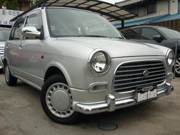 ダイハツ ミラジーノ 660 全塗装・外装リファイン/ウッド革ハンドル