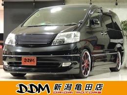 トヨタ アルファード 3.0 G MX Lエディション 4WD 関東仕入れ 社外AW ローダウン