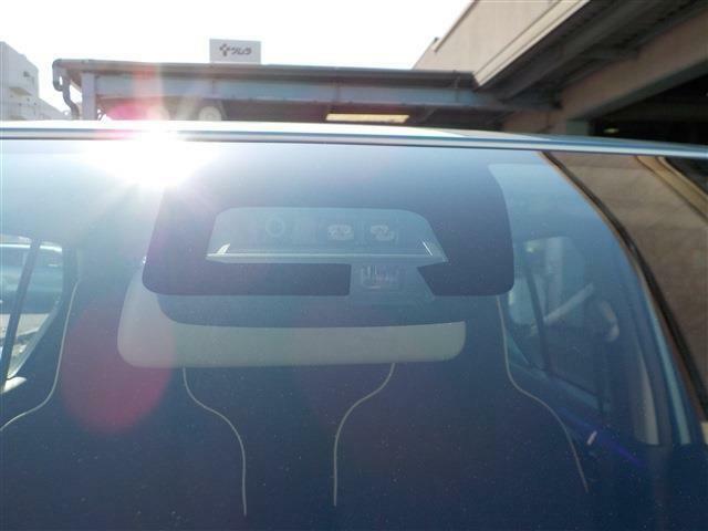 運転の疲れなどで蛇行すると、注意を促すふらつき警報機能付!!
