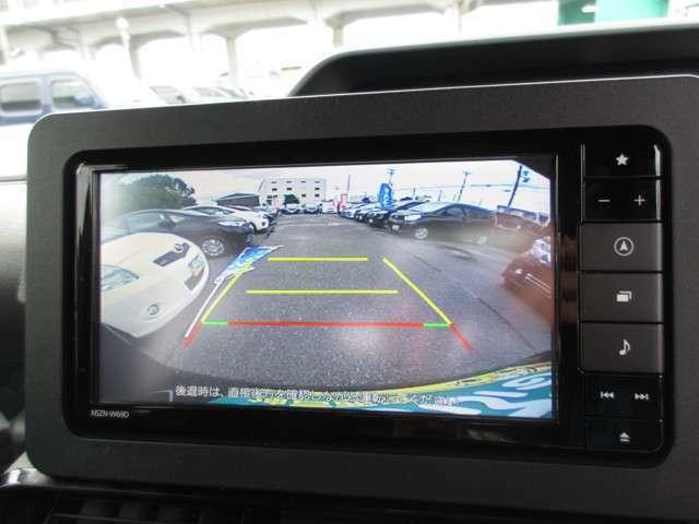 バックカメラ付き!後方確認が簡単に出来ますので、駐車時も安心ですね♪