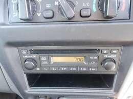 CD・FM/AMチューナー付きオーディオです