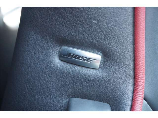 ★【BOSEサウンドシステム】車内であることを忘れさせるような広がりある音響空間!!★