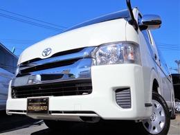 トヨタ ハイエース 2.7 グランドキャビン 4WD 4型法人1オナナビBカメラ電動ドアWエアB