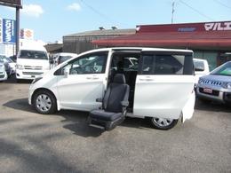 ホンダ フリード 1.5 X サイドリフトアップシート車 車いす収納装置 左Pスラ キーレス 福祉車両