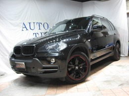 BMW X5 3.0si 4WD パノラマルーフ・黒革・カスタム19アルミ
