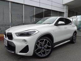 BMW X2 xドライブ18d MスポーツX ディーゼルターボ 4WD ACCヘッドUPセ-フティコンフォ-トP禁煙