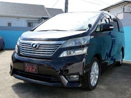 トヨタ ヴェルファイア 3.5 Z ・メーカー純正HDDナビ・サンルーフ