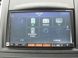 TV・CD・ラジオ・DVDの視聴やブルートゥース接続などができます。