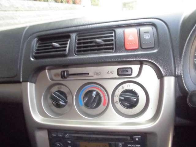 これから必須のエアコン!これがれば快適に過ごしながらドライブできますね。
