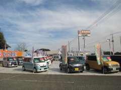 国道124号イオン鹿嶋より車で5分。鹿島神宮、鹿島サッカースタジアムが近くにございます。ぜひお気軽にご来店ください☆