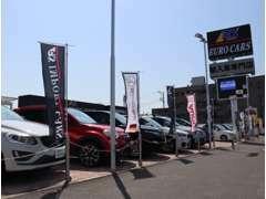 ベンツ、アウディ、BMW、MINIなど厳選した幅広いメーカーラインナップを展示中です。