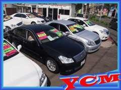 軽自動車から高級車!低年式から高年式車まで!近年はセダンに力を注いでいます!!全車、質にはこだわっております!